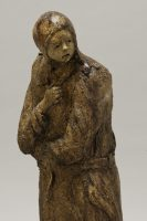 The Window Shopper, Ceramic Sculpture by Michael Hermesh, Mondo Creation Show